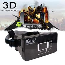 2015 Hot Sale! Plastic Virtual Reality 3D Video Glasses for  3.5 to 6″  Phone Google Cardboard With NFC Movie Cinema Convenient