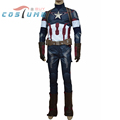 Avengers Age of Ultron Captain America Steve Rogers Adult Army Uniform Outfit Jacket Pant Star Halloween
