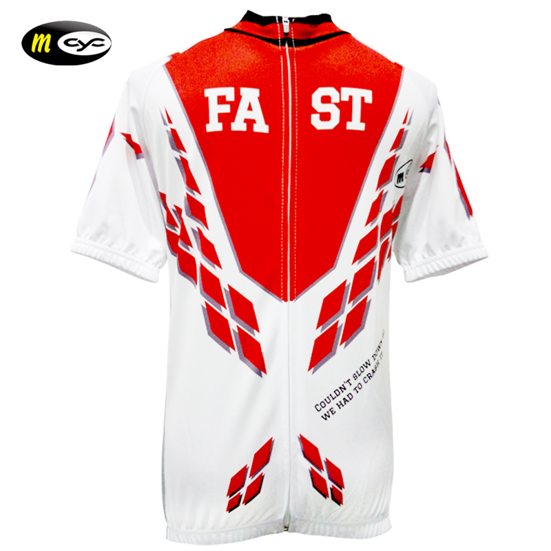 M-CYC Discount Products Factory Special Price The Full Length Zip Short Sleeve Jersey Cycling Jersey M16592TZ - Multicolor(China (Mainland))