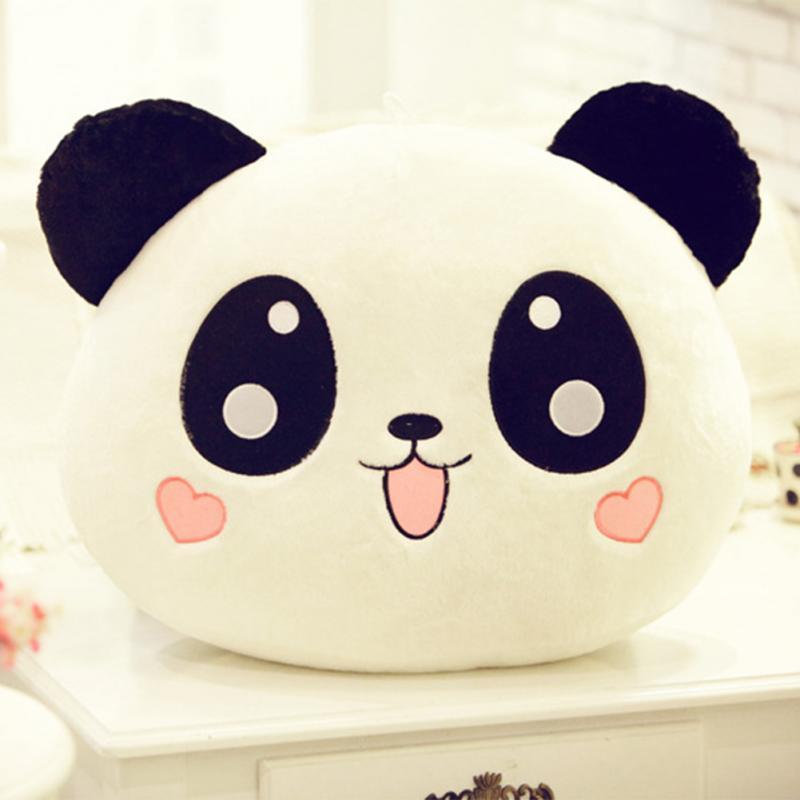 20cm Giant Panda Pillow Mini Plush Toys Stuffed Animal Toy Doll Pillow Plush Bolster Pillow Doll Valentine's Day Gift Kids #45(China (Mainland))