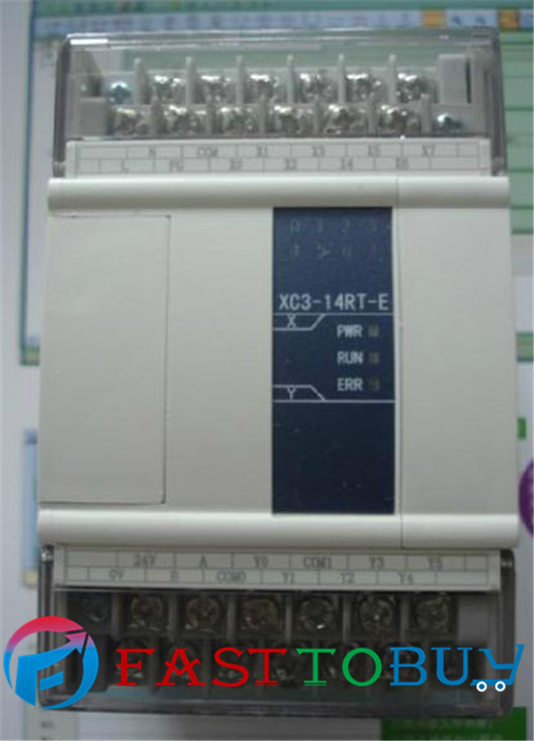 Xinje XC3 serie PLC XC3-14R-C 8-point NPN Inputs 6-point Relay Outputs DC24V New<br><br>Aliexpress