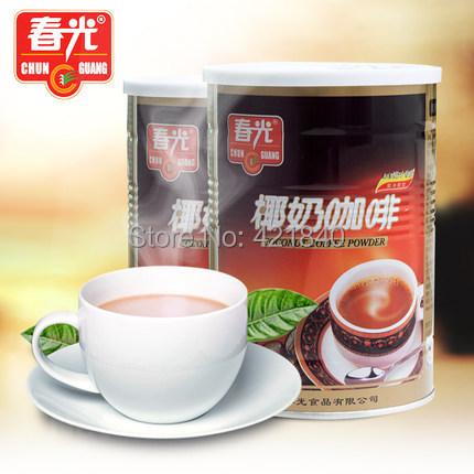coconut milk powder cofe tassimo dolce gusto Hainan specialty spring triple instant coffee 400 Gram 2