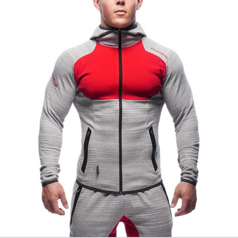 2016 Gymshark Hoodies camisetas Gym masculina hombre coat Bodybuilding and fitness hoodies Sweatshirts Muscle men's sportswear(China (Mainland))