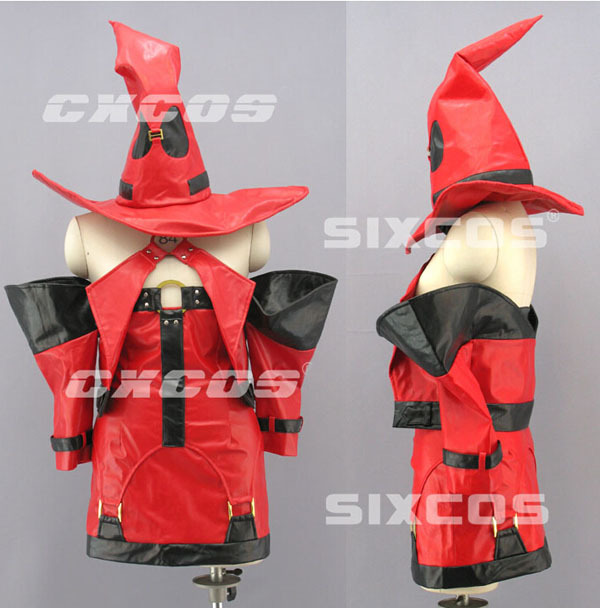 New Arrival Custom Made Guilty Gear XX Dress Cosplay Costume(China (Mainland))