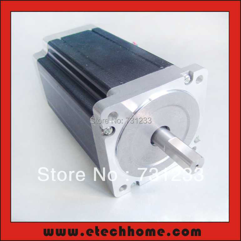 Фотография NEMA 34 Stepper Motor 6A 12N.m (1667 oz-in) Frame 86mm Body 150mm CNC Stepping Motor CE ROHS
