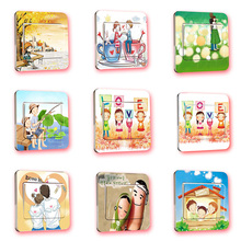 Creative Light Switch Wall Stickers for Kids Room Home Decorations DIY PVC Cartoon Decals Children Gift 3d Mural Arts Posters(China (Mainland))