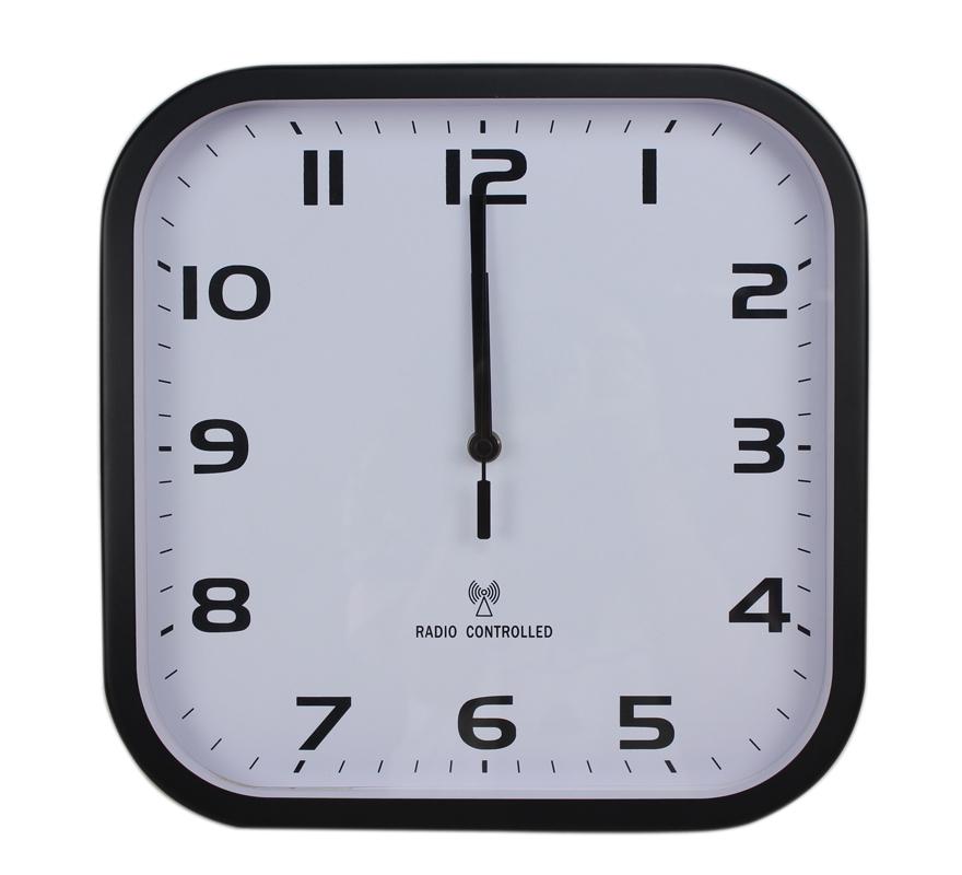 Jjy12 39 39 Square Radio Controlled Wall Clock Home Wall Clock