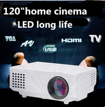 Hot sale!2015  HD 1080P portable Video LCD Digital HDMI USB Home Theater 3D mini LED Projector Proyector Beamer TV tuner(China (Mainland))