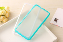 20pcs lot For HTC Desire 816 Mobile Phone Accessories 3D Colorful Candy Transparent Back Case Cover