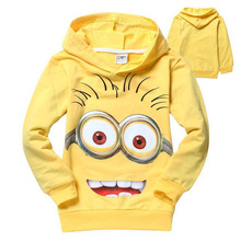 2014 despicable me 2 minion boys t shirt girls t-shirts kids children t shirts child Spring hoodies Tops & Tees ATX019