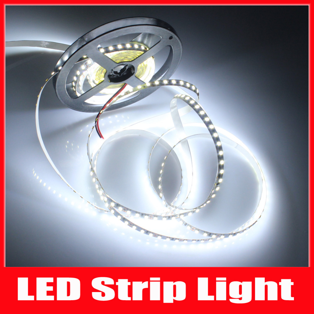 MIYOLE 5M 3528 LED Strip 120led/M DC12V Cold White/Warm White/Red/Green/Blue/Yellow LED Flexible Light led tape led free ship(China (Mainland))