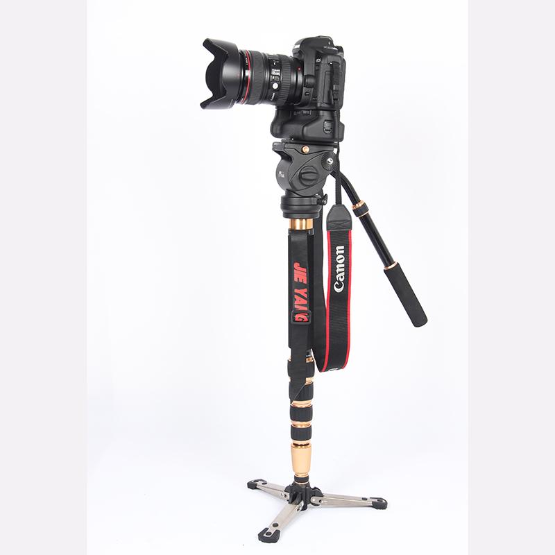 PROGO JY0506 carbon fiber Professional Monopod For Video & Camera / Tripod For Video /Tripod Head & Carry Bag JY0506C wholesale(China (Mainland))