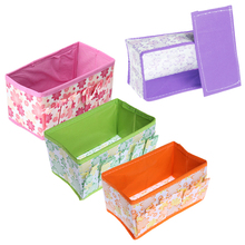 Cosmetic Folding Make Up Storage Box Container Bag Case Stuff Organizer Free Shipping ST1#