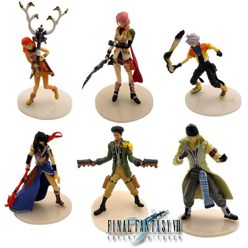 FREE SHIPPING Anime Final Fantasy Vanille Hope Figure Set Of 6Pcs(China (Mainland))