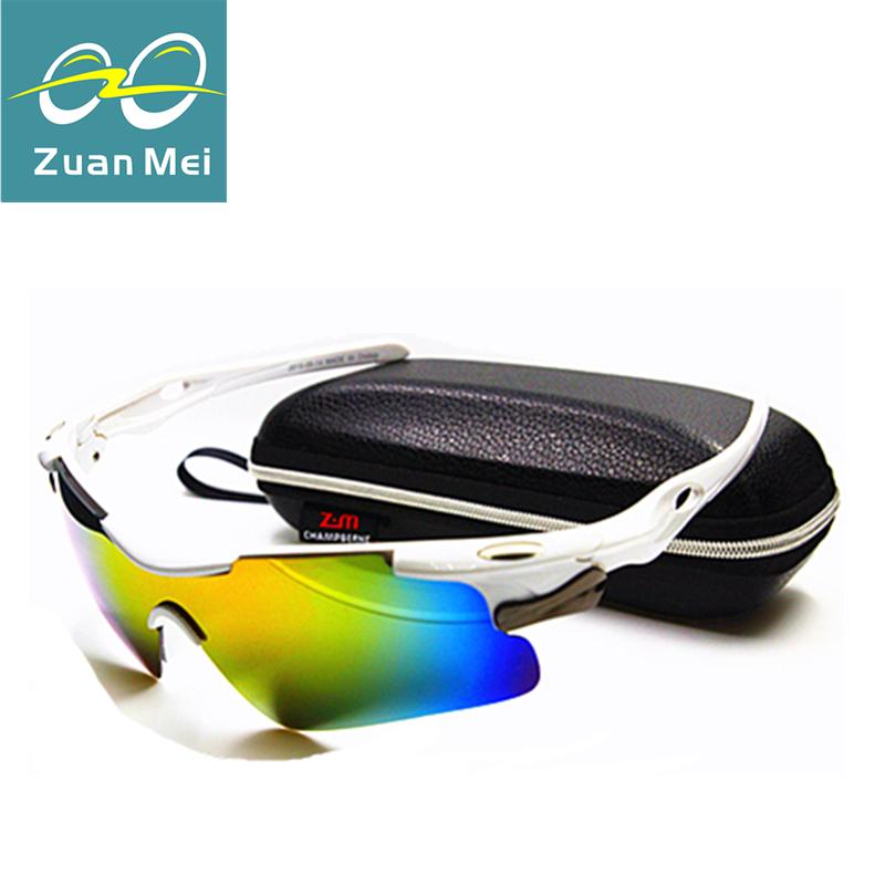 Zuan Mei Brand Sports Polarized Sunglasses Men Driver Mirror Sun glasses Women Fishing Glasses Outdoor Eyewear For Men ZM04(China (Mainland))