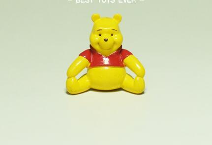 free 60pcs/lot 2cm Cute winnie bear mini subminiature figure toys winnie collection toys