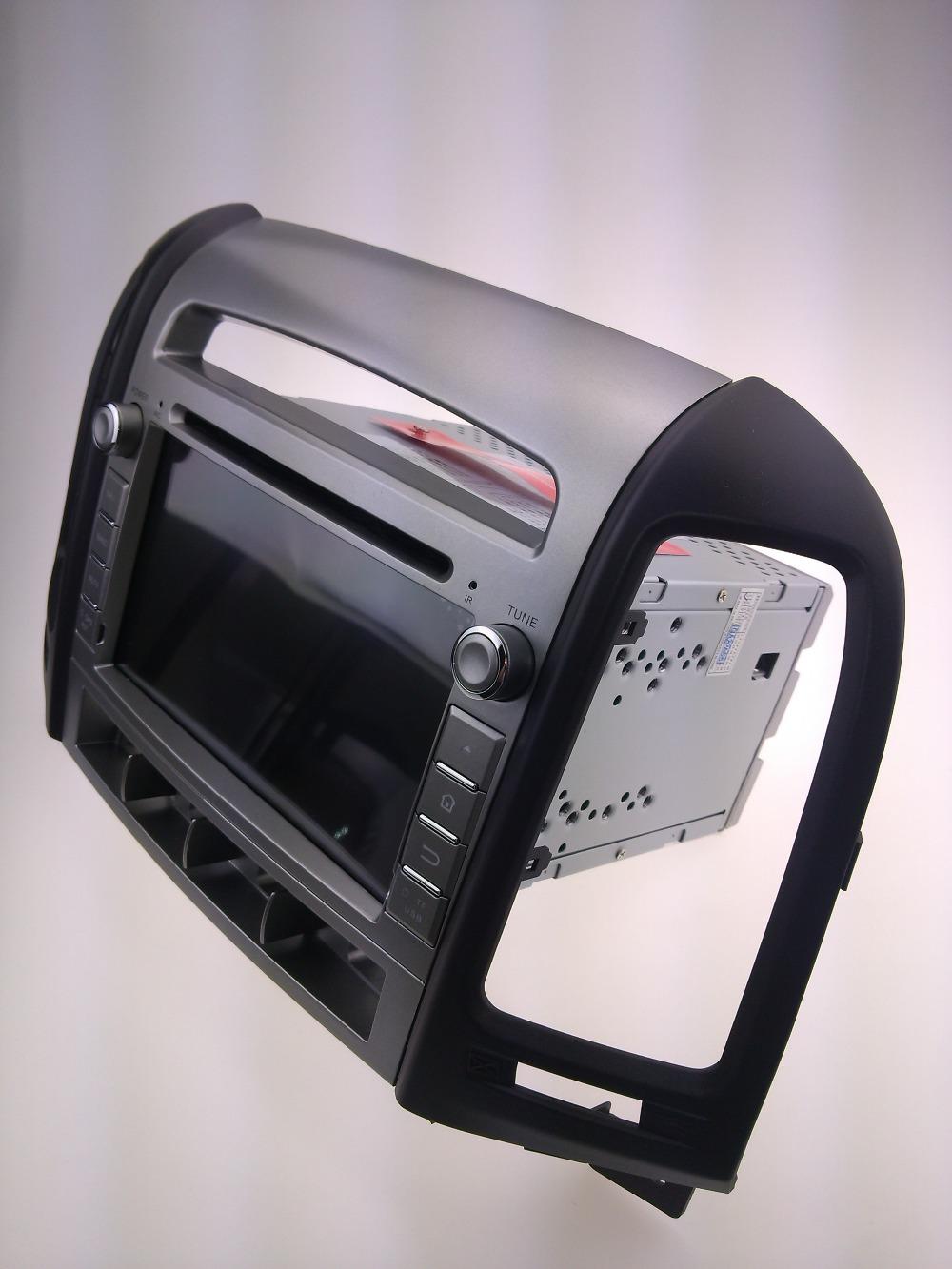 Car dvd GPS Navigation player for SANTA FE 2006-2011 7 inch C