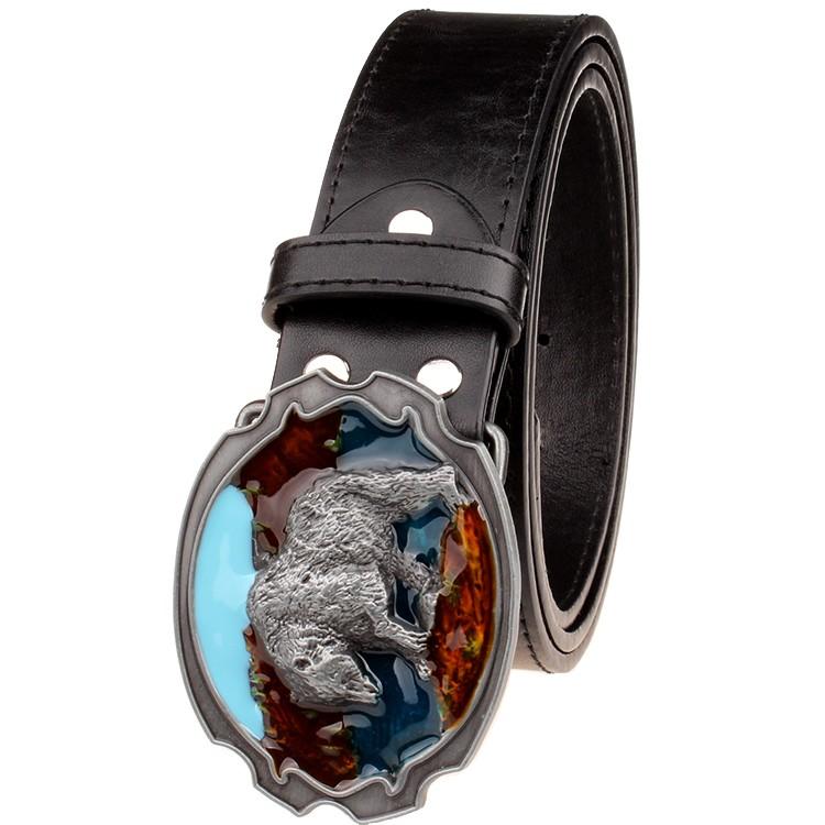 HTB1fvySLVXXXXXyXpXXq6xXFXXXk - Fashion New leather belt metal buckle Polar bear belts punk rock exaggerated russian style trend decorative belt for men gift