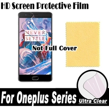 HD Clear Screen Protector Display Protective Soft Film OnePlus 3T 3 1+3 1+3T Three TWO 2 1+2 One 1 1+1 X 1+X - Dream House Technology Co., Ltd store