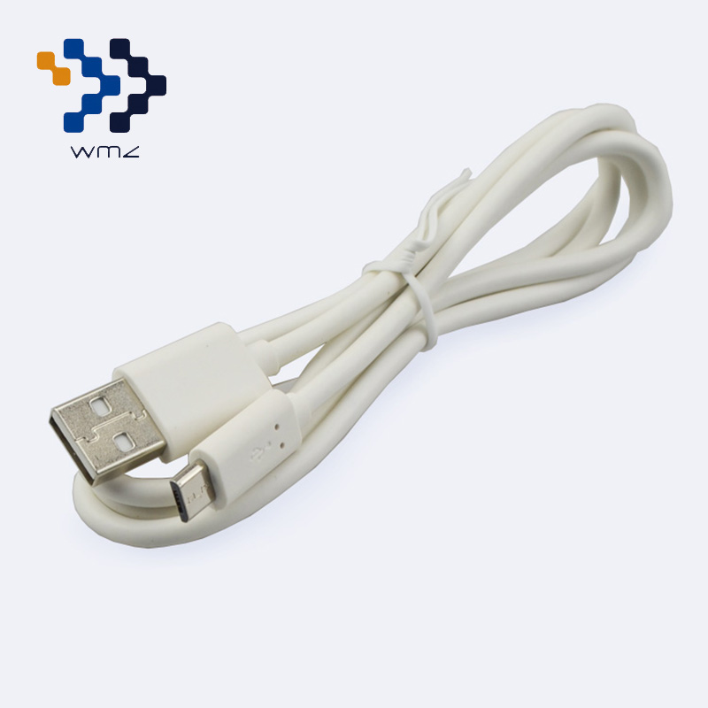 WIMAZON Micro USB 2.0 Cable Data Sync Charging Cable Mobile Phone Cable for Samsung Huawei Xiaomi HTC LG 1M White(China (Mainland))