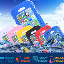I6 6S Swimming Diving Waterproof Case For Apple iphone 6S Transparent Crystal Clear Cellphone Hard Cover For iphone 6S Plus 5.5′