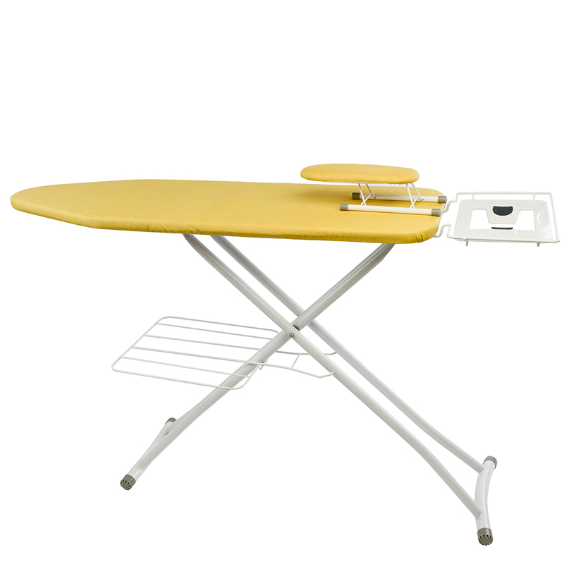 2202 folding ironing board ironing board ultra-stable large steel hanger household iron and ironing board(China (Mainland))