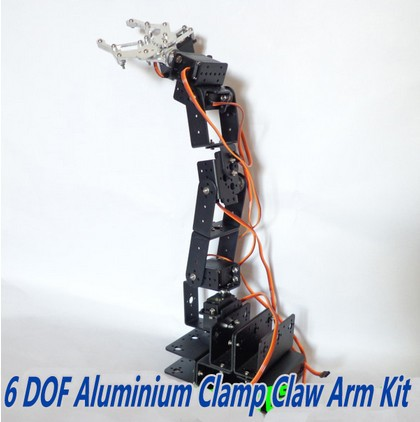 6-DOF manipulator arm D rotation / full structure of the robot with a base bracket accessories
