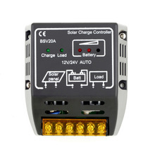1PCS 20A 12V/24V Solar Panel Charge Controller Battery Regulator Safe Protection Hot Worldwide