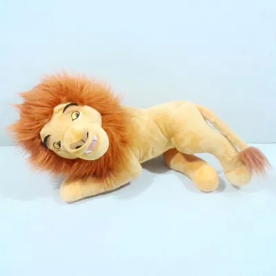 Free Shipping 1pc 45cm The Lion King Simba plush toy doll stuffed dult Simba Lion plush doll for kids gift(China (Mainland))
