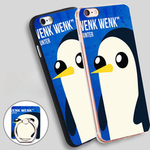Buy Adventure Time Gunter Quote Phone Ring Holder Soft TPU Silicone Case Cover iPhone 4 4S 5C 5 SE 5S 6 6S 7 Plus for $2.24 in AliExpress store