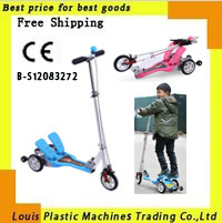 Free Shipping Pedal Scooter child bicycle kid's bike collapsible foldable(China (Mainland))