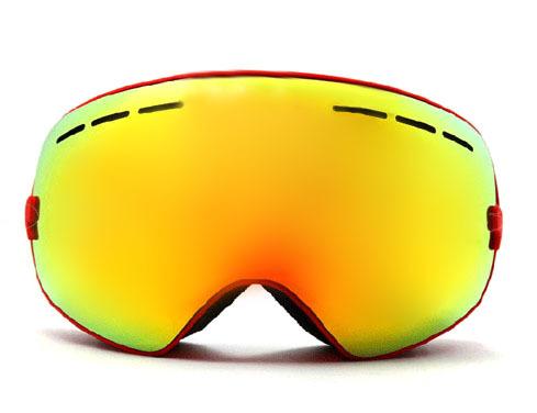 New genuine brand ski goggles double lens anti-fog big spherical professional ski glasses unisex multicolor snow goggles BNCE(China (Mainland))