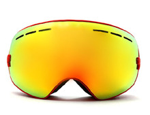 New genuine brand ski goggles double lens anti-fog big spherical professional ski glasses unisex multicolor snow goggles BNCE(China (Mainland))