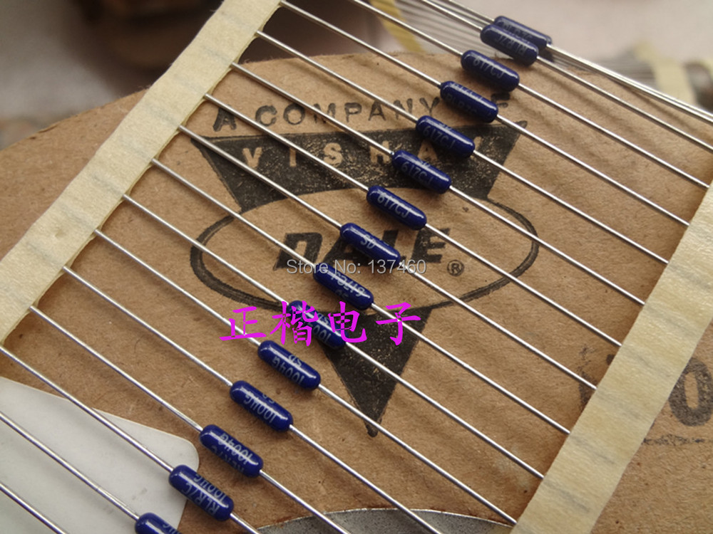 Dani VISHAY DALE imported original low standard of precision resistors 1 / 4W 0.25W resistor specification see TableCertain disc(China (Mainland))