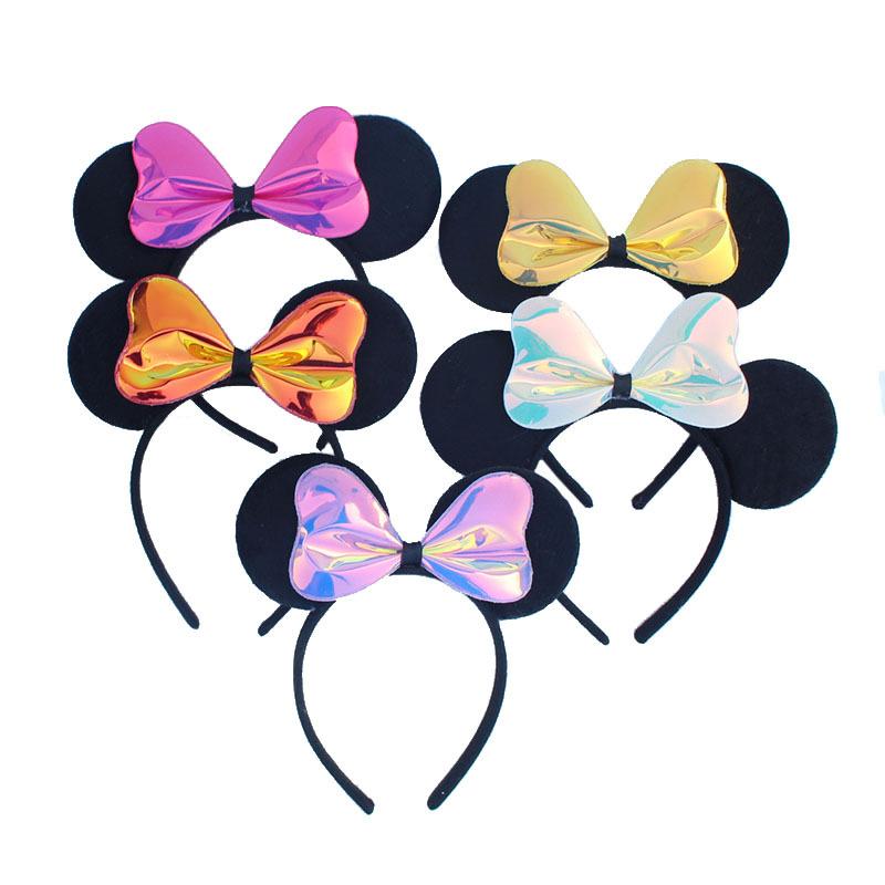 Милые уши Микки для девочек повязка на голову Минни Маус товары дня рождения LY-PH-73 (1).JPG