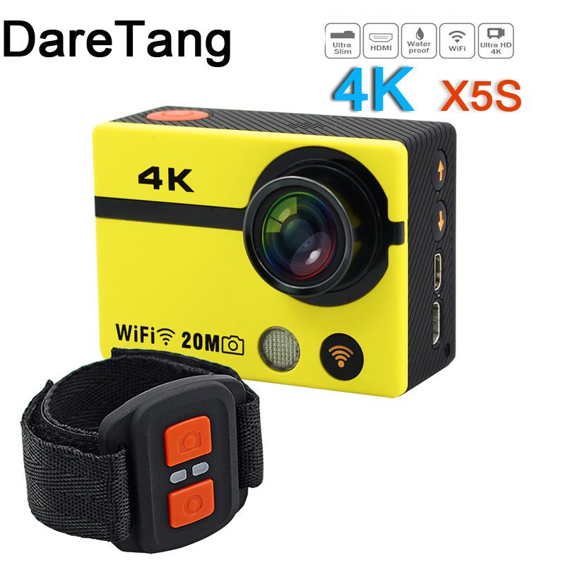 Daretang Sport Action Camera x5 Wifi 2.0 Inch 12M 1080P Waterproof 1080P HD Waterproof camera add selfie stick charger +battery<br><br>Aliexpress
