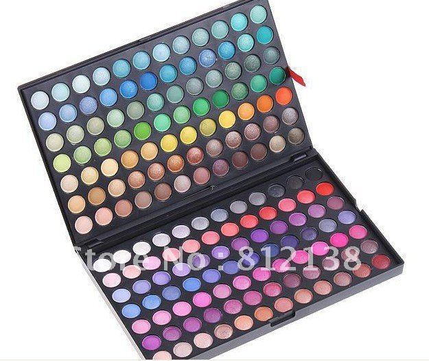 Wholesale price Free shipping  ! Pro 168 Colors Shimmer matte baked Eyeshadow  make up Palette #1& #2