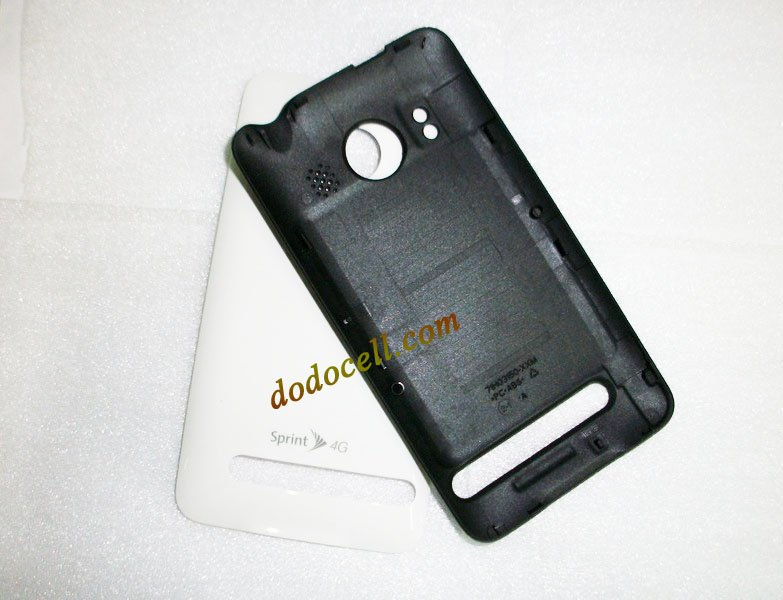 Hot sale! Original new back battery housing cover door case for HTC Evo 4G A9292, free shipping.(China (Mainland))