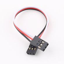 Buy 10cm Male Male JR Plug Servo Extension Lead Wire Cable 100mm RC Plane Wholesale Store for $1.50 in AliExpress store