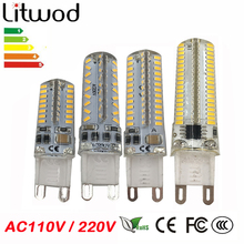 Buy ZZ G9 LED Lamp Corn Bulb AC 220V AC110V SMD 3014 48 64 96 104leds Lampada LED light 360 degrees Replace Halogen Lamp for $1.62 in AliExpress store