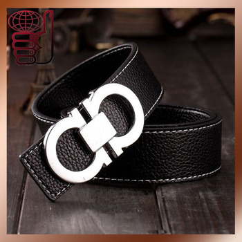 New Brand Designer Mens Belt Luxury Style Faux Leather Belts for Men Metal Buckle Man Jeans Pants Brand Style Male Strap