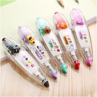 Korea Stationery Cute Novelty Decorative Correction Tape Correction Fluid SchoolOffice Supply decorative adhesive tape brinquedo(China (Mainland))