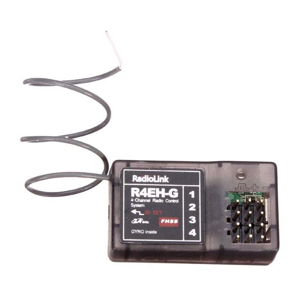 Radiolink R4EH-G Gyro Inside Receiver For RadioLink 2.4G 4CH Gyro RC4G Transmitter(China (Mainland))