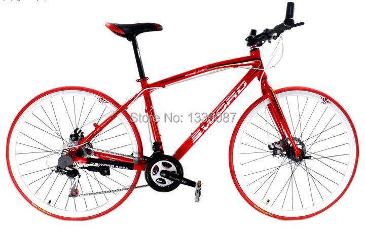 "2014 New Road bike bicycle Bicicleta Road bicycle complete 700C Road Bike Bicycle 21 Speeds 26 "" bikes road complete(China (Mainland))"