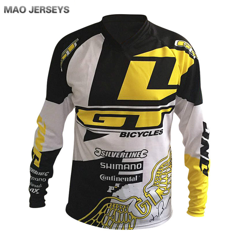 2016 Mountain Bike Riding Equipment GT Off-road Racing Suit T-shirt Quick Dry Breathable Soft Tail Clothing Quick Surrender(China (Mainland))
