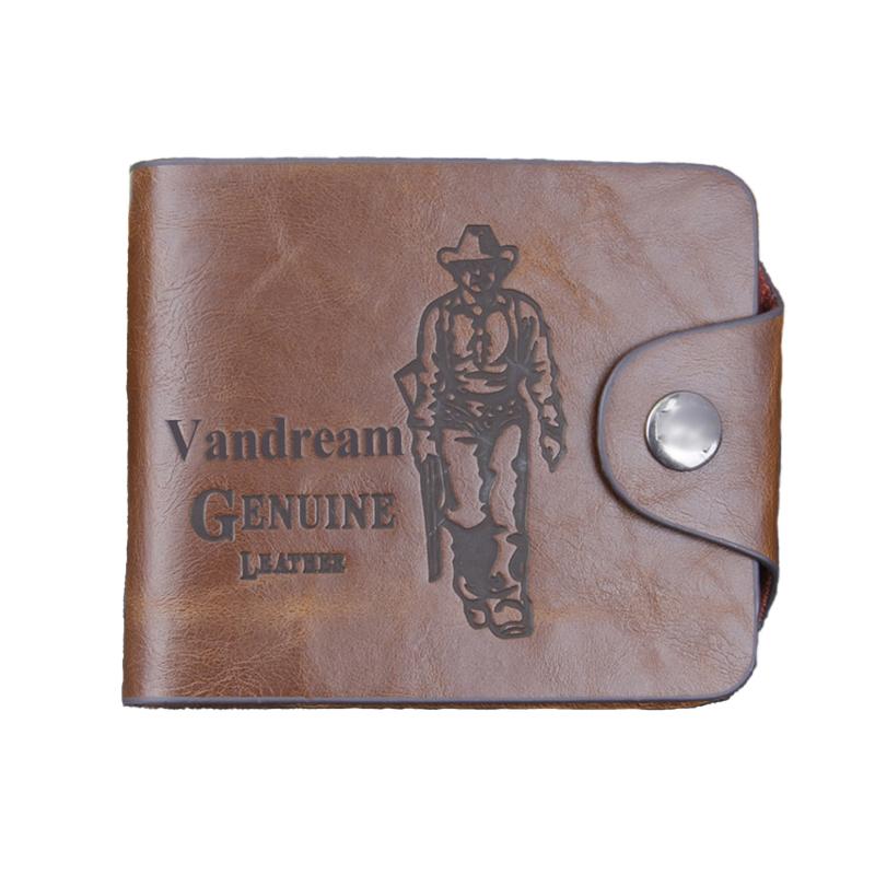 8 style Brown Fashion Short PU Leather Men bifold Wallet Mens Bifold folding Cowhide Wallets<br><br>Aliexpress