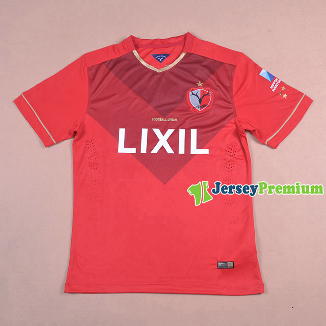 2015 2016 Kashima Antlers Home Red Jerseys JAPAN J1 Top Thai Uniform ENDO OGAWARA Soccer Jersey(China (Mainland))