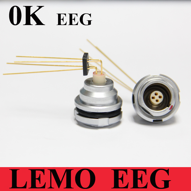 LEMO connector EEG 0K 2 3 4 5 6 7 9 Pin Connector LEMO EEG.0K.30*.CLV Elbow (90 Degree) Contact for Printed Circuit For PCB