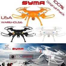 RC Helicopter Syma X8C Venture Quadcopter 2.4G 4ch 6 Axis Venture with 2MP Wide Angle Camera RTF Quad Copter