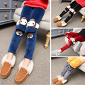 3 16Years Old Children Leggings Lovely Cartoon Warm Thickness Winter Trousers Girls Fashion Good Girl s